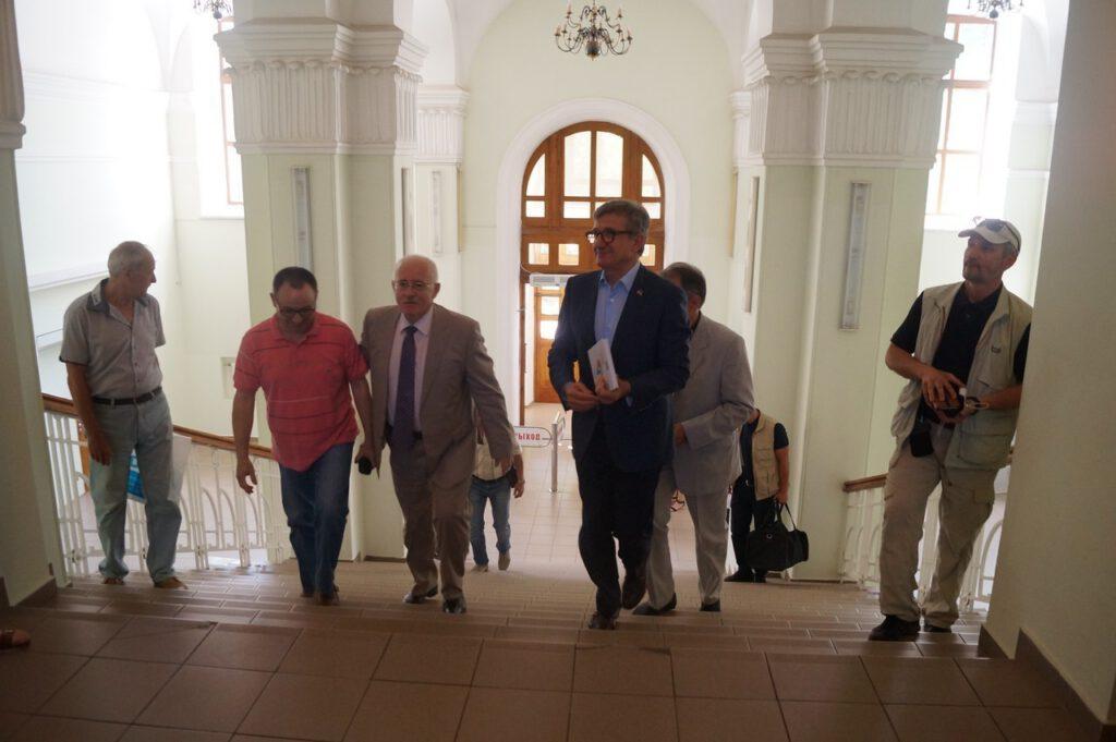Народний депутат України, випускник ПДТУ Тарута Сергій Олексійович відвідав alma-mater - 950