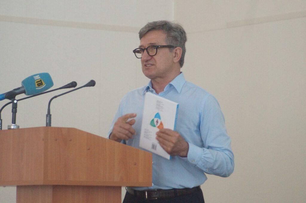Народний депутат України, випускник ПДТУ Тарута Сергій Олексійович відвідав alma-mater - 960