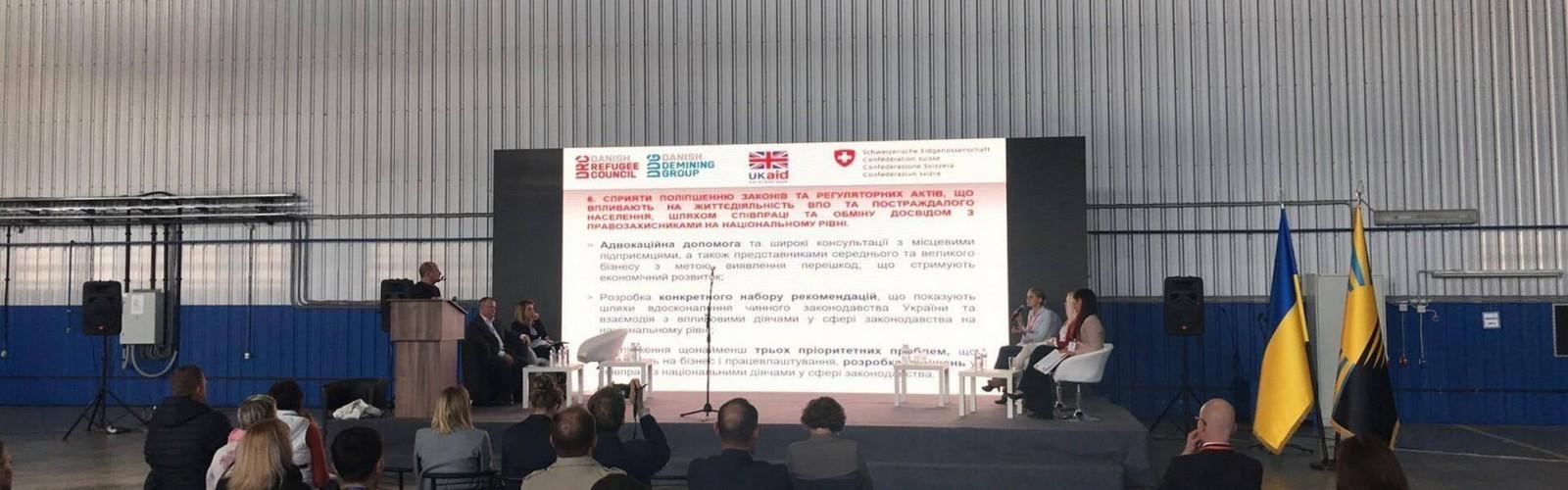 IT-шник Станіслав Євченко став єдиним маріупольцем на міжнародній виставці в Краматорську