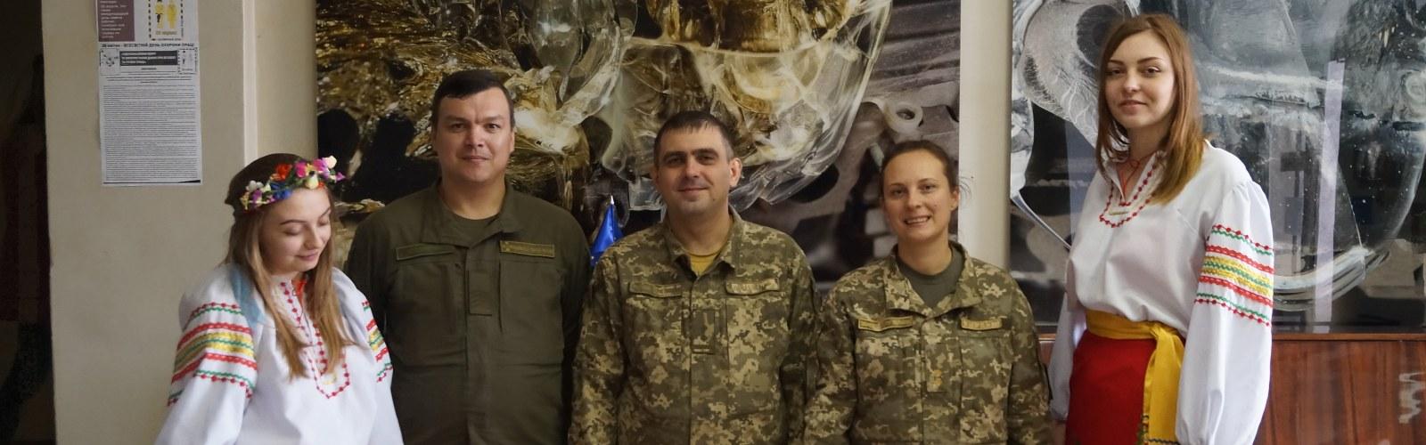 День захисника України у ПДТУ