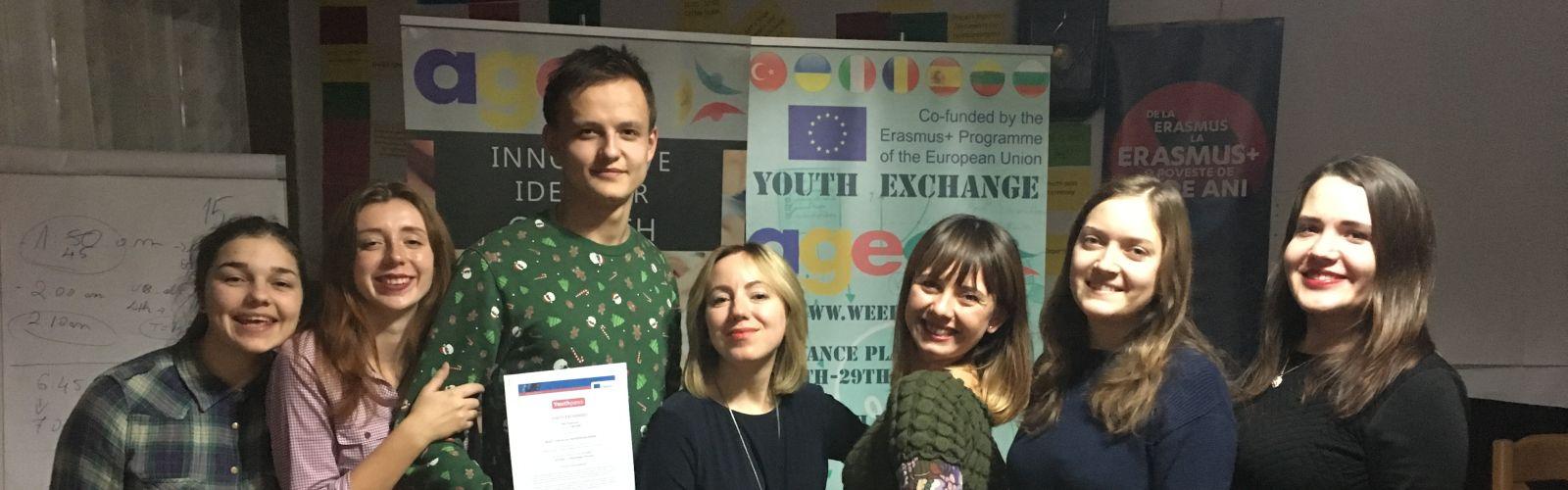 Молодіжний обмін з Erasmus + Countries на тему «Ready for social entrepreneurship» у Румунії