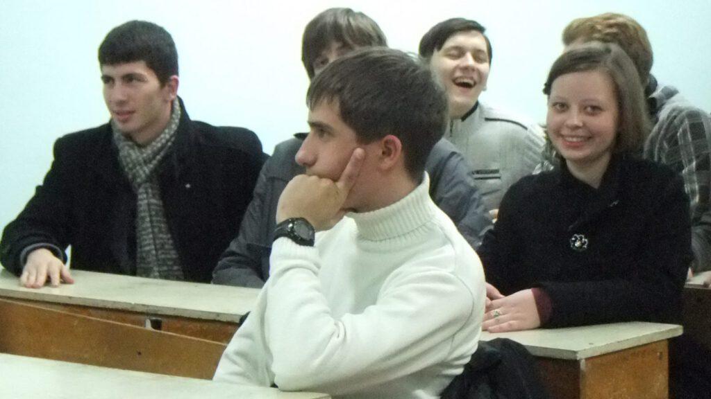 Артем Полищук - один из наиболее активных участников философского клуба