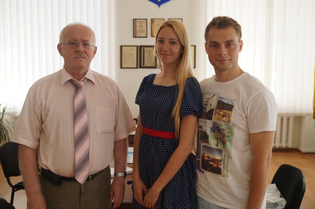 Студенти ПДТУ Катерина Голюк та Артем Синенко про поїздку в Париж - 1378