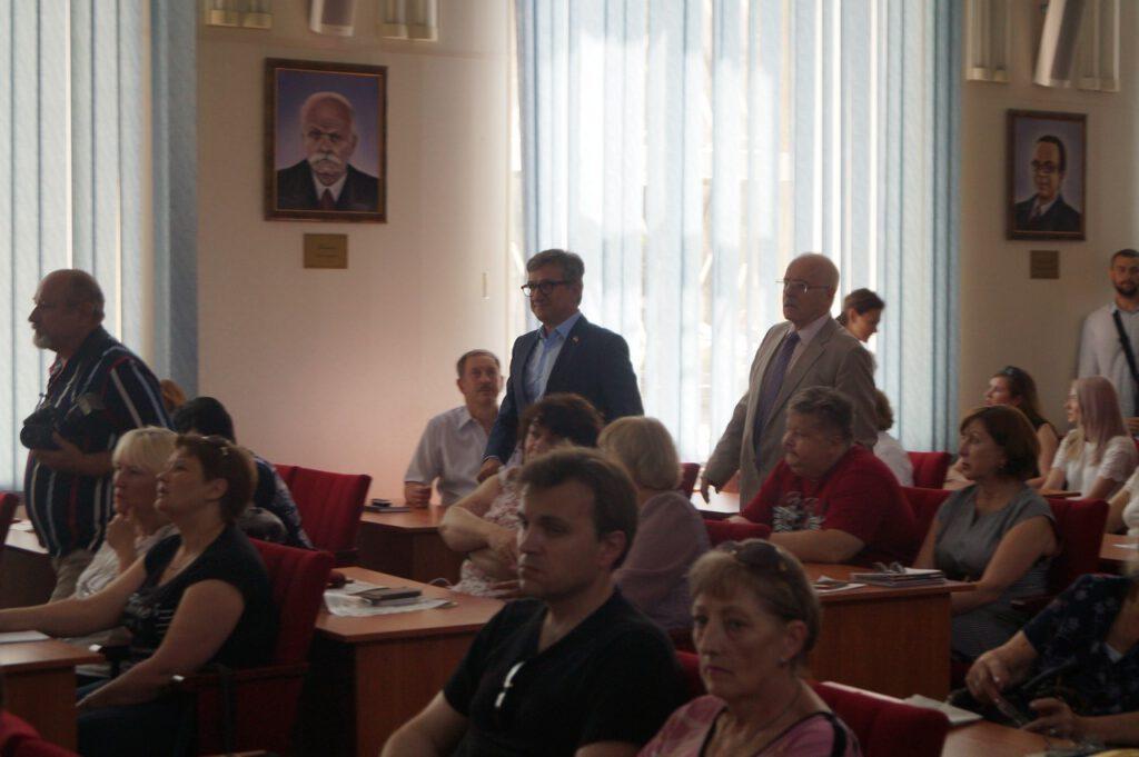 Народний депутат України, випускник ПДТУ Тарута Сергій Олексійович відвідав alma-mater - 951