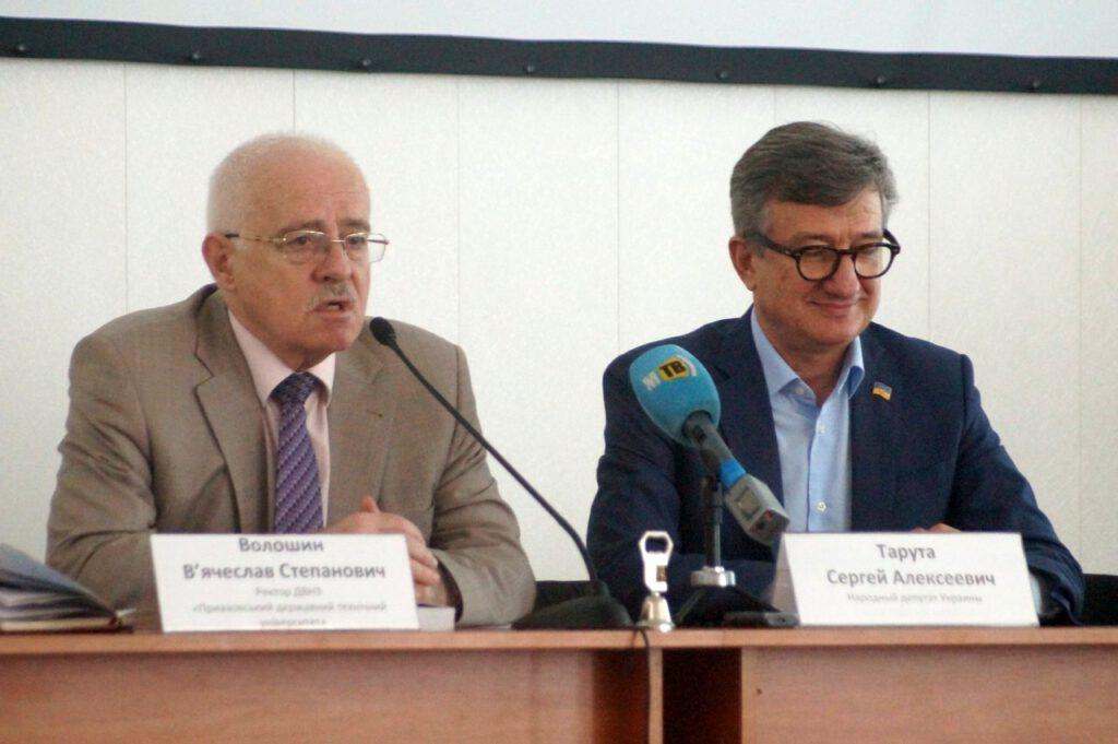 Народний депутат України, випускник ПДТУ Тарута Сергій Олексійович відвідав alma-mater - 953