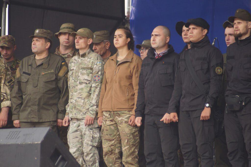 Святкування третьої річниці звілнення міста від бандформувань т.з. ДНР - 1007
