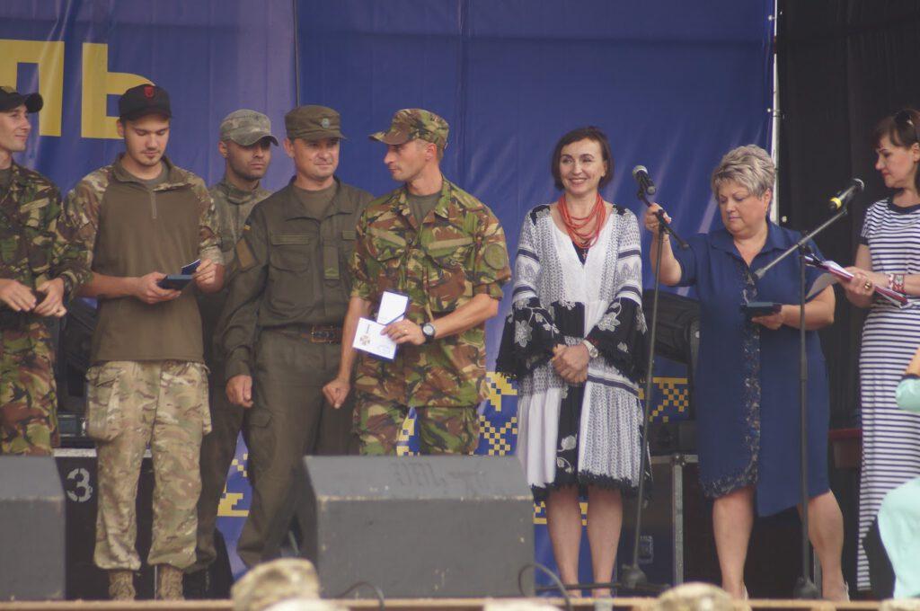 Святкування третьої річниці звілнення міста від бандформувань т.з. ДНР - 1008