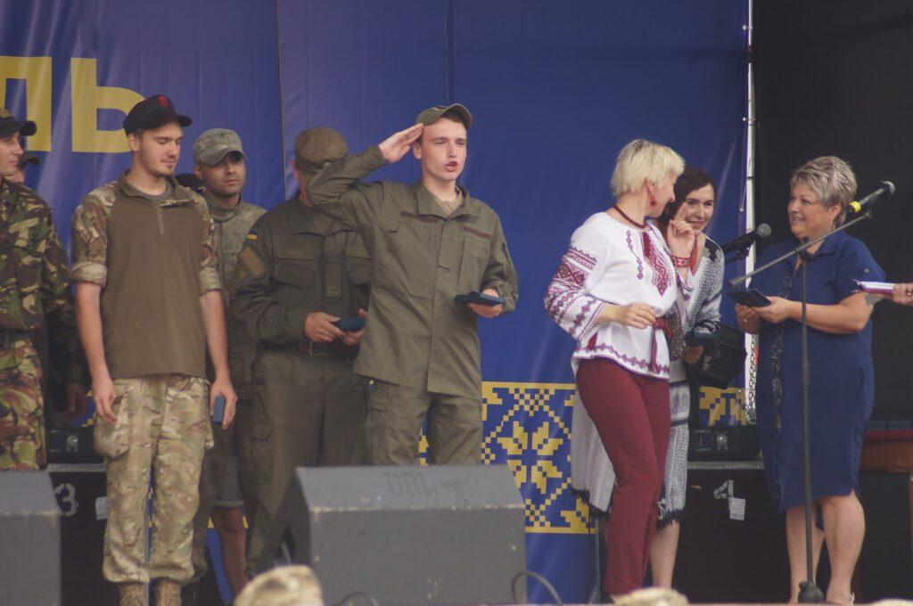 Святкування третьої річниці звілнення міста від бандформувань т.з. ДНР - 1009