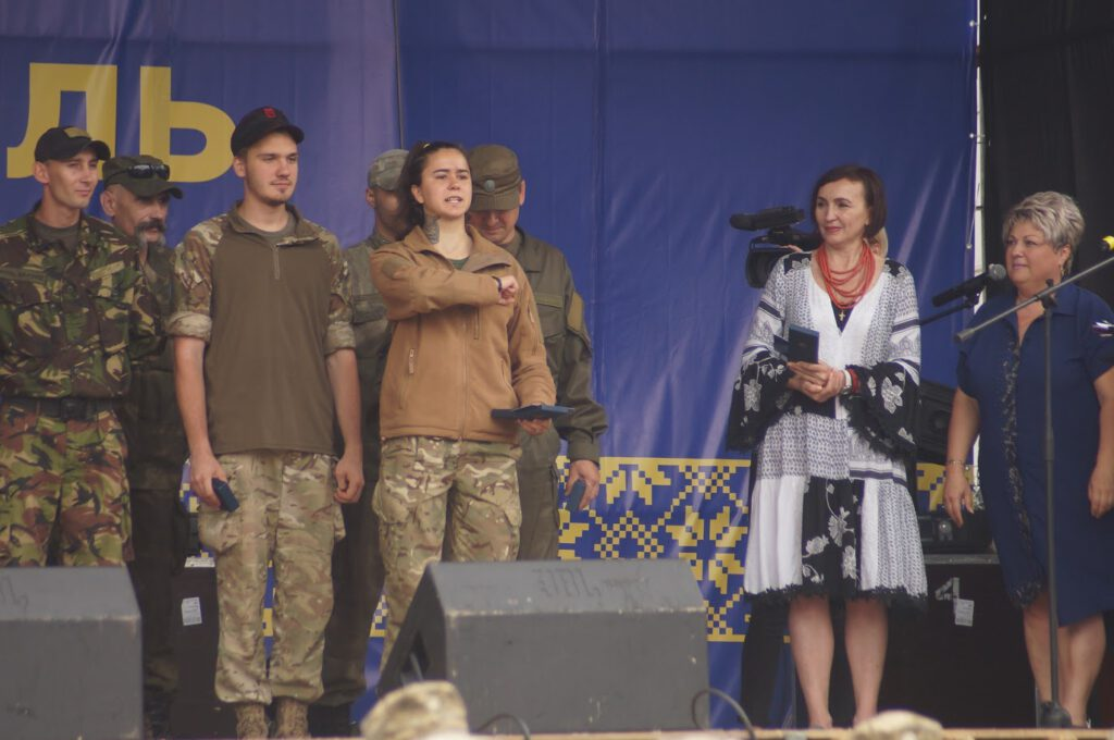 Святкування третьої річниці звілнення міста від бандформувань т.з. ДНР - 1010