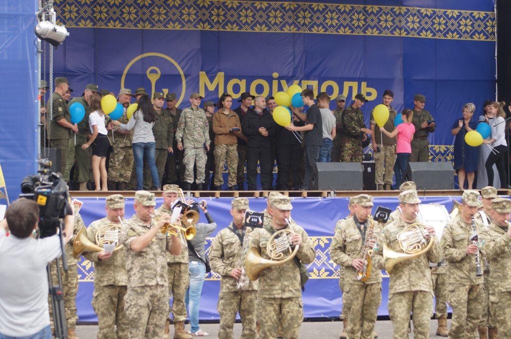 Святкування третьої річниці звілнення міста від бандформувань т.з. ДНР - 1012