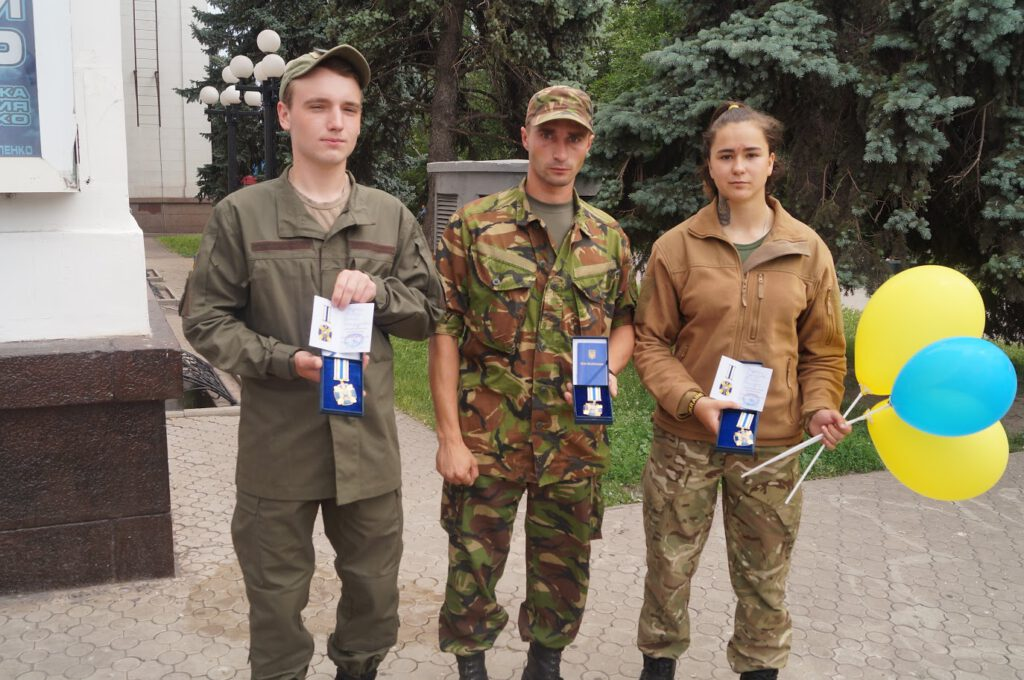 Святкування третьої річниці звілнення міста від бандформувань т.з. ДНР - 1014
