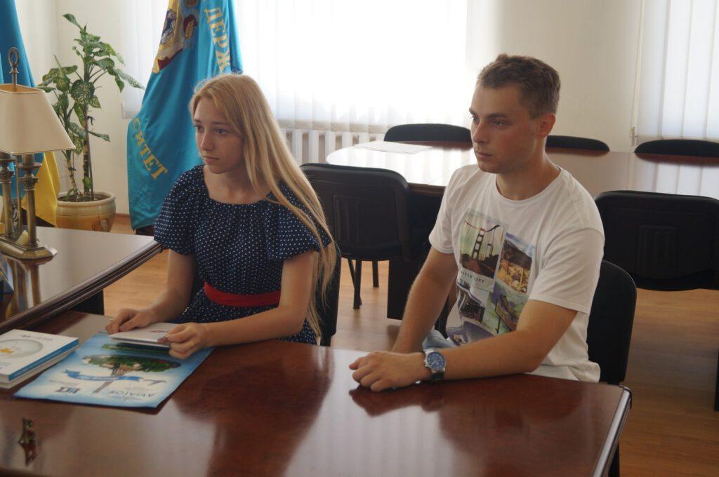 Студенти ПДТУ Катерина Голюк та Артем Синенко про поїздку в Париж - 1382