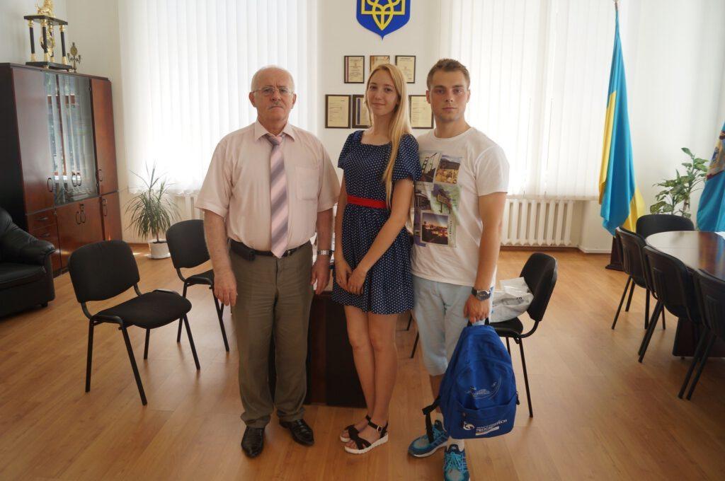 Студенти ПДТУ Катерина Голюк та Артем Синенко про поїздку в Париж - 1400