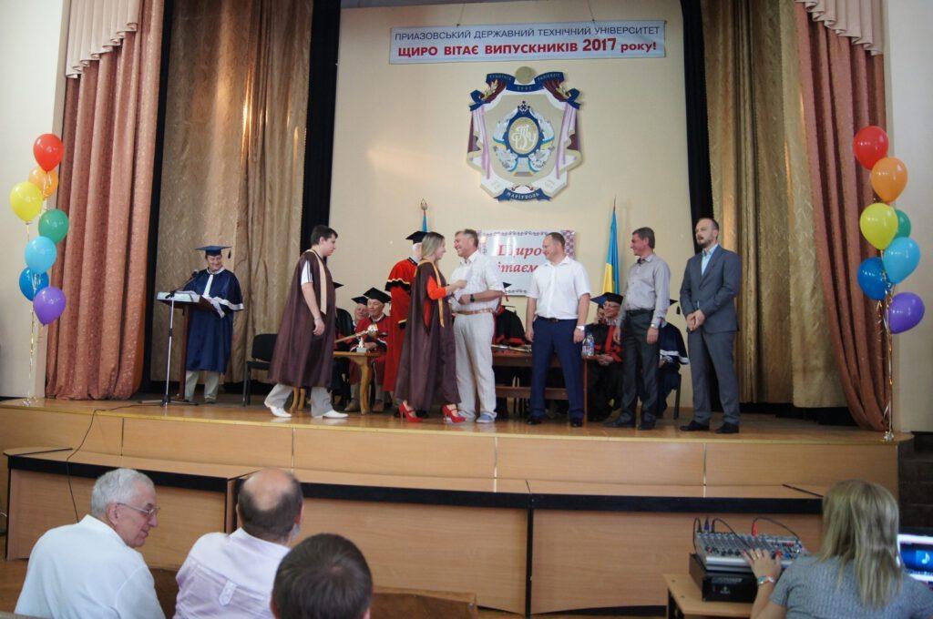 Вручення дипломів випускникам ДВНЗ «ПДТУ» 2017 року - 1627
