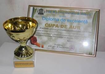 Золотий кубок Румунського Форуму винахідників