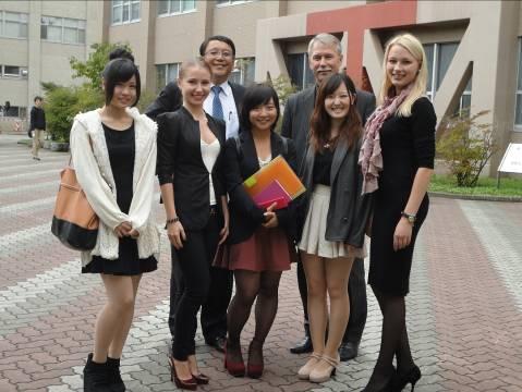 Стажування аспірантів кафедри в Муроранському інституті технологій, Японія
