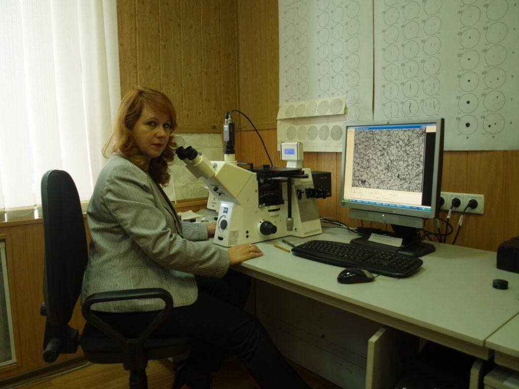 Оксана Шебаниць, начальник управління випробувань  ПРАТ «ММК ім. Ілліча»