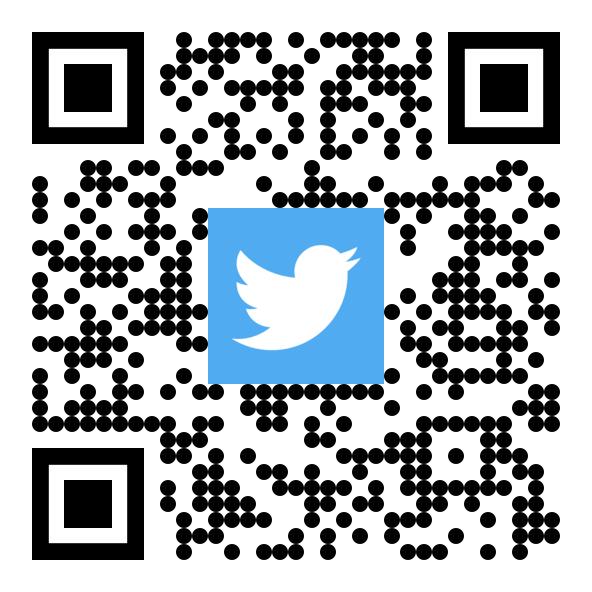 qr код на профиль ПГТУ в twitter